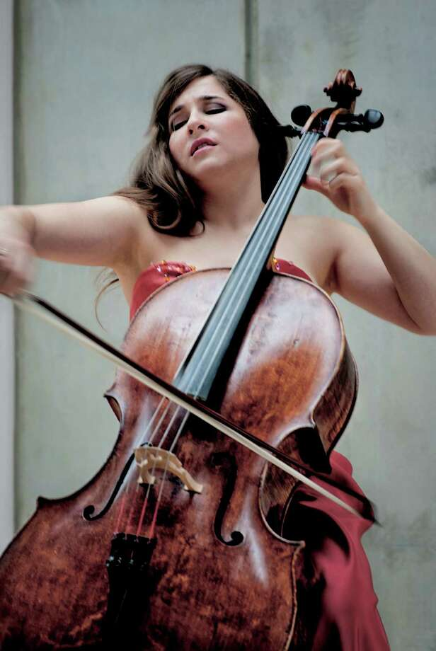 Renowned contemporary cellist Alisa Weilerstein is performing at St. Mark's Lutheran Church in San Francisco on Saturday, Feb. 14. Photo: Harald Hoffman / ONLINE_YES