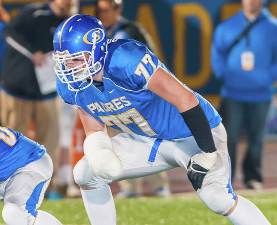 Jack Dreyer, a standout offensive lineman at Serra High, was the only Bay Area signing for Stanford. Cal had none, though it cast a wider net this year to accommodate academic concerns. Photo: Sam Stringer / MaxPreps / ONLINE_YES