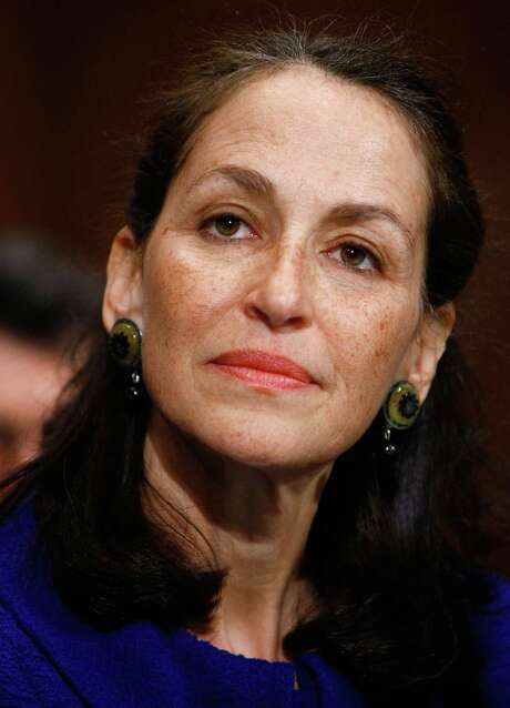 FILE - FEBRUARY 5, 2015: It has been reported that FDA Commissioner Dr. Margaret Hamburg will resign in March on February 5, 2015. Hamburg was nominated in 2009 by President Barack Obama. WASHINGTON - MAY 07:  Dr. Margaret Hamburg testifies before the Senate Health, Education, Labor and Pensions Committee on Capitol Hill May 7, 2009 in Washington, DC. Hamburg testified on her pending nomination to become the next commissioner of the Food and Drug  Administration.  (Photo by Win McNamee/Getty Images) Photo: Win McNamee, Staff / 2009 Getty Images