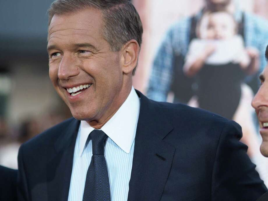 NBC News anchor Brian Williams's credibility has been called into question after his admission his story about a combat incident in Iraq was inaccurate. Photo: ROBYN BECK, Staff / AFP