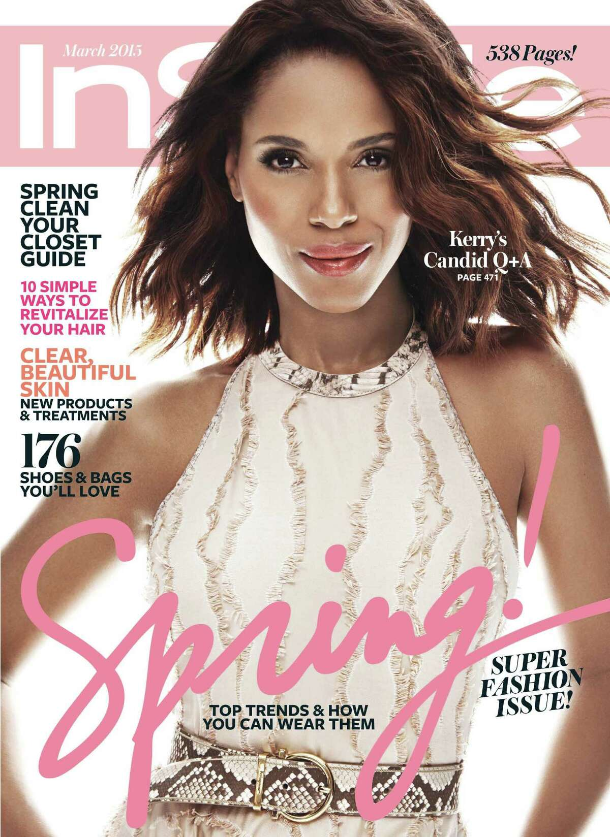 InStyle and fans fought over whether Kerry Washington's skin tone had been digitally altered.