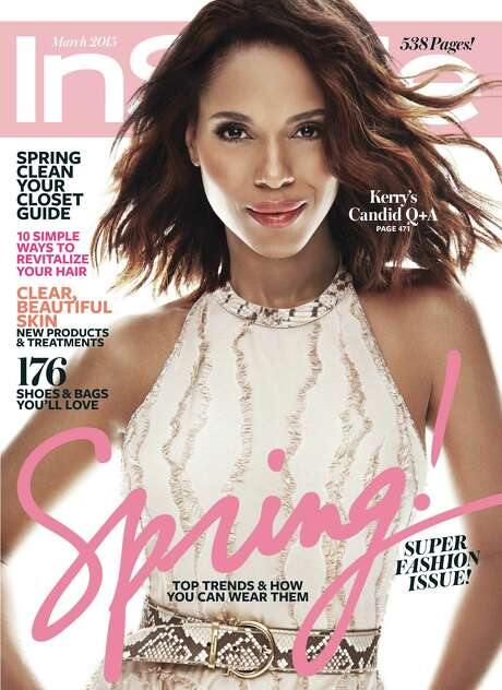 InStyle says it did not digitally lighten Kerry Washington's skin tone. Photo: HONS / InStyle Magazine