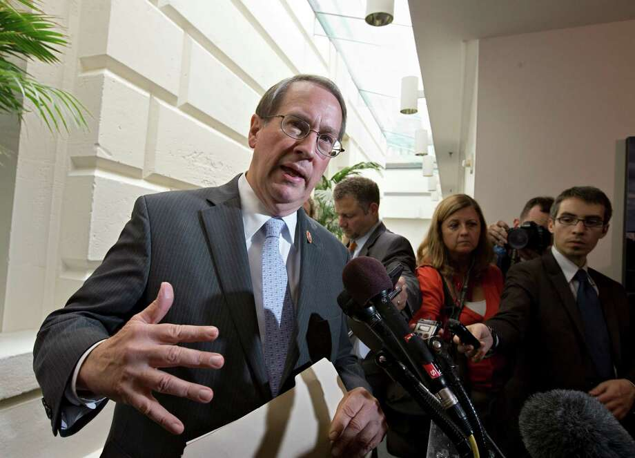 Rep. Bob Goodlatte has introduced legislation to modify the renewable fuel standard that requires a mix of non-petroleum products in the U.S. fuel supply. Photo: J. Scott Applewhite, STF / AP
