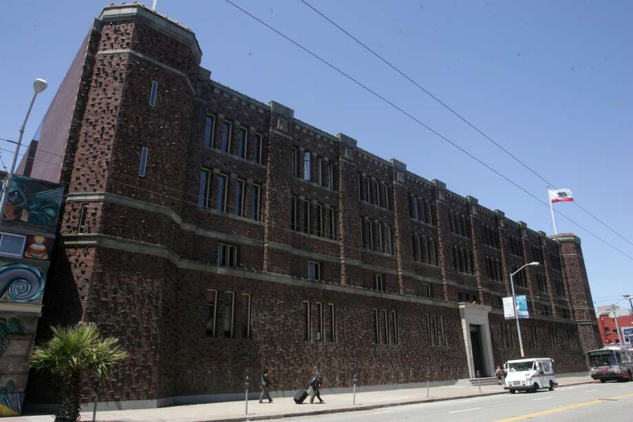 The Armory, home to Kink.com Photo: Mathew Sumner, Special To The Chronicle