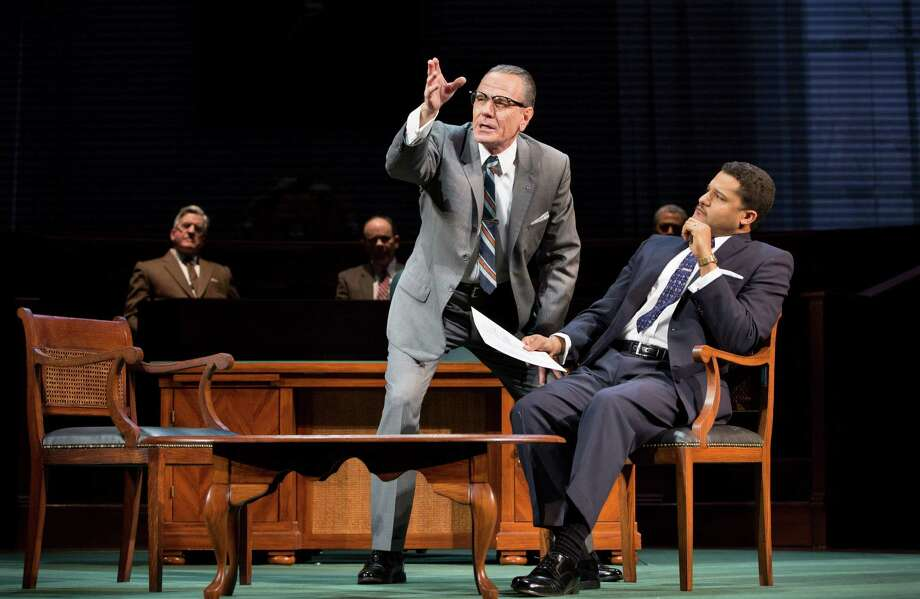 "Bryan Cranston played Lyndon Baines Johnson in the Broadway version of ""All the Way."" Photo: SARA KRULWICH, STF / NYTNS"