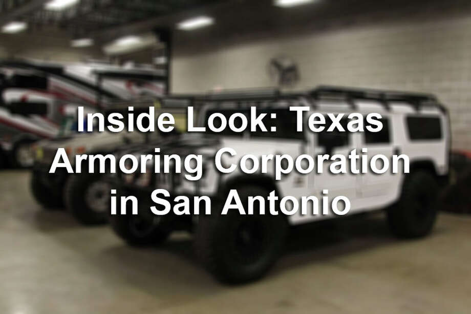 Click through the gallery for an inside look at Texas Armoring Corporation, which specializes in providing bulletproof glass and armor made of ballistic steel for numerous car models. Photo: Tyler White, Photo Illustration