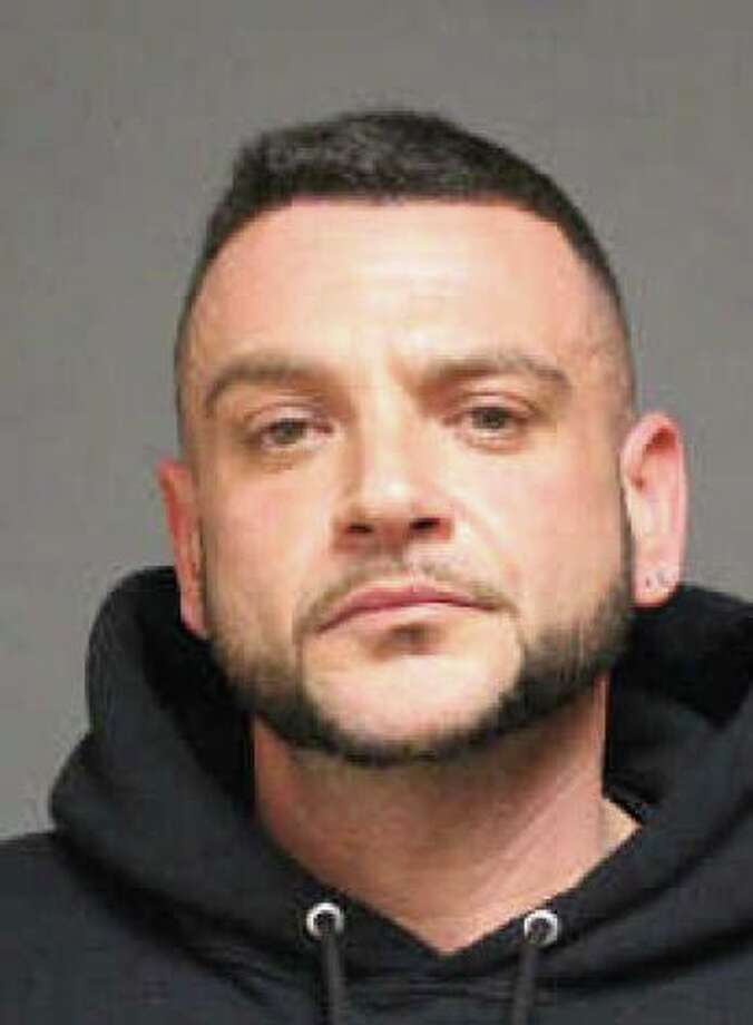Paul Fanciulli, 35, of Stratford, was arrested early Friday morning and charged with stalking his ex-wife. Photo: Contributed Photo /  Fairfield Citizen contributed