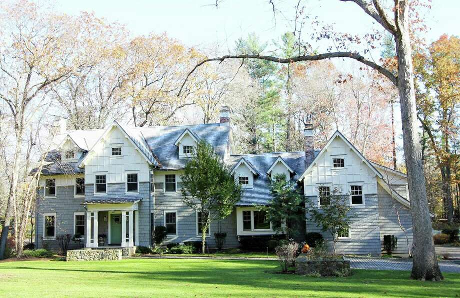 The property at 57 Rilling Ridge is on the market for $2,895,000. Photo: Contributed Photo / New Canaan News
