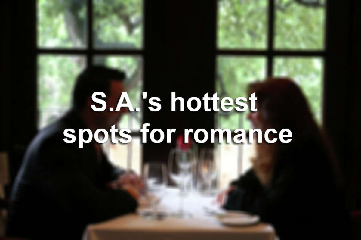 S.A.'s hottest spots for romance.
