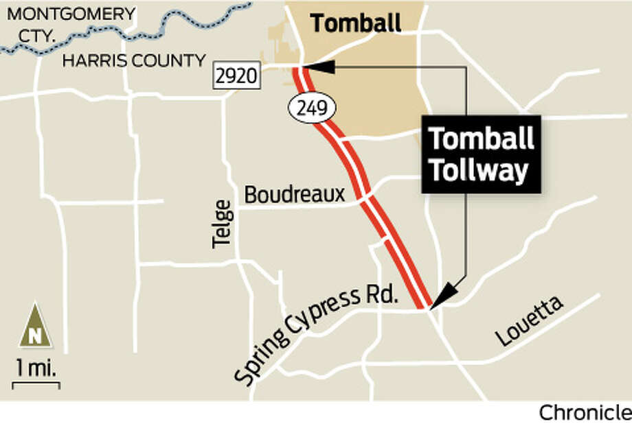 Tomball TollwayTX 249, between FM 2920 and Spring Cypress Road