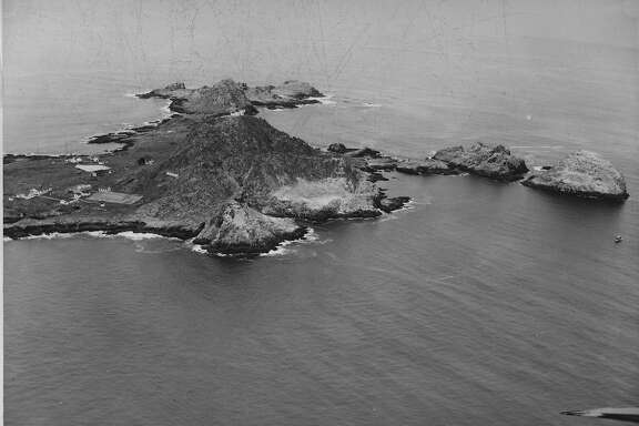 Farallone Islands  Photo taken 04/24/1954