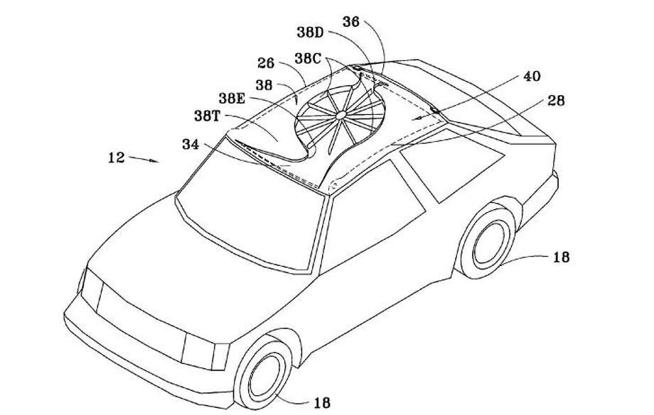 weird car-related patents filed at the u s  patent office