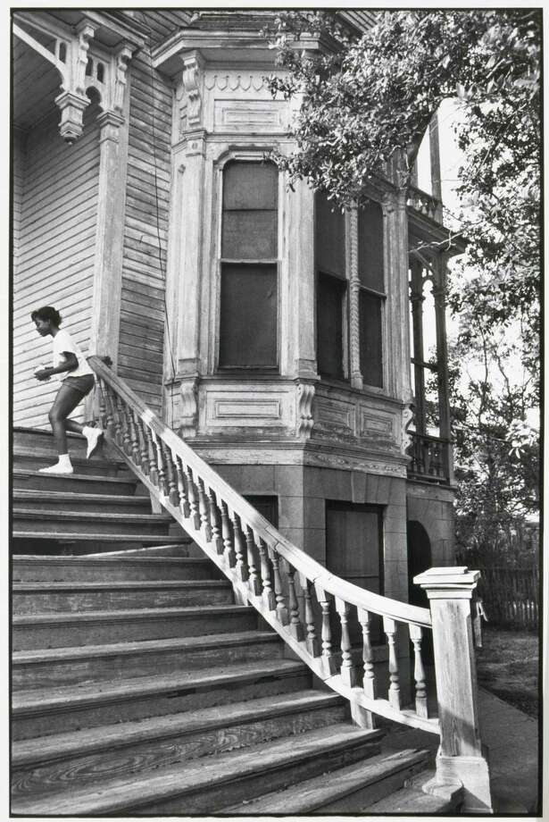 Henri Cartier-Bresson photographed Galveston's Sawyer-Flood House in 1965. Photo: Henri Cartier-Bresson / handout