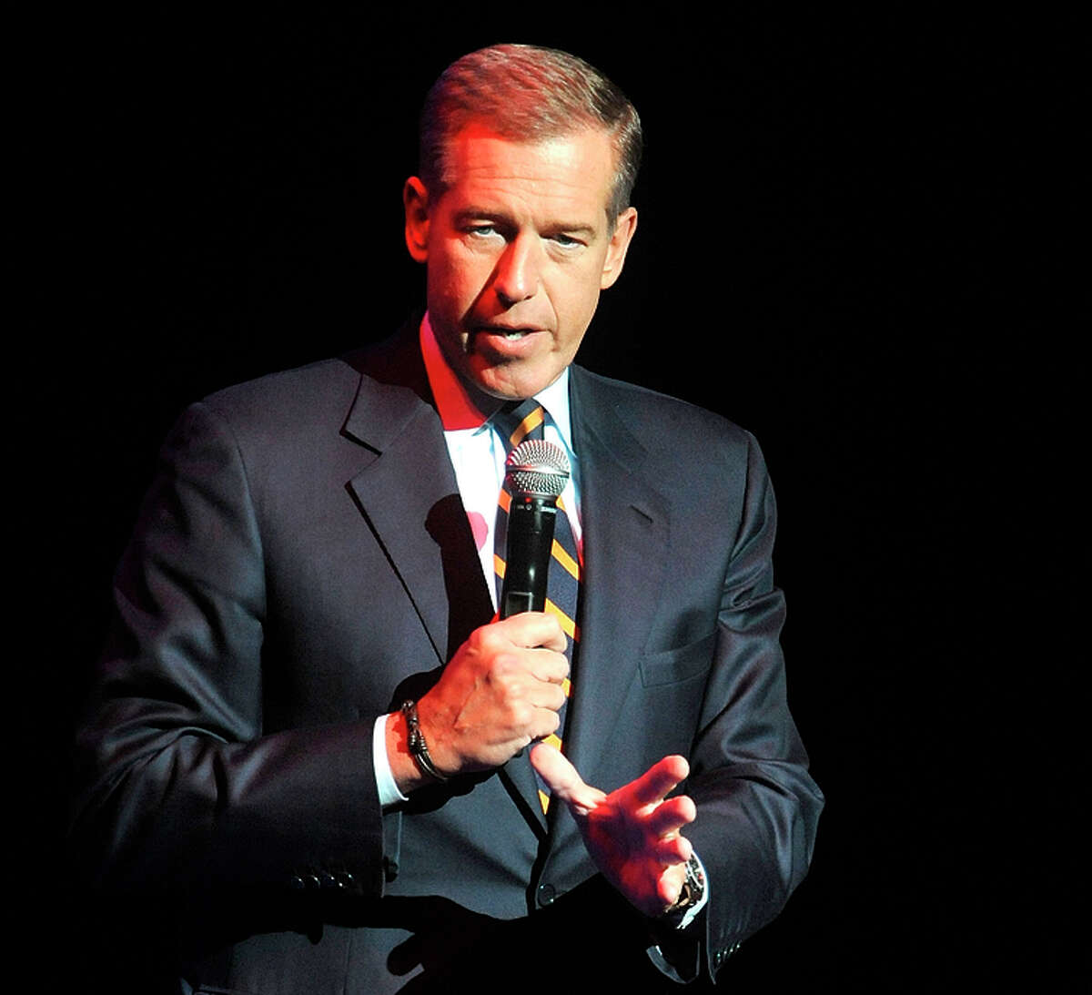 """Brian Williams claimed that """"the fog of memory"""" make him think he was in the downed helicopter."""