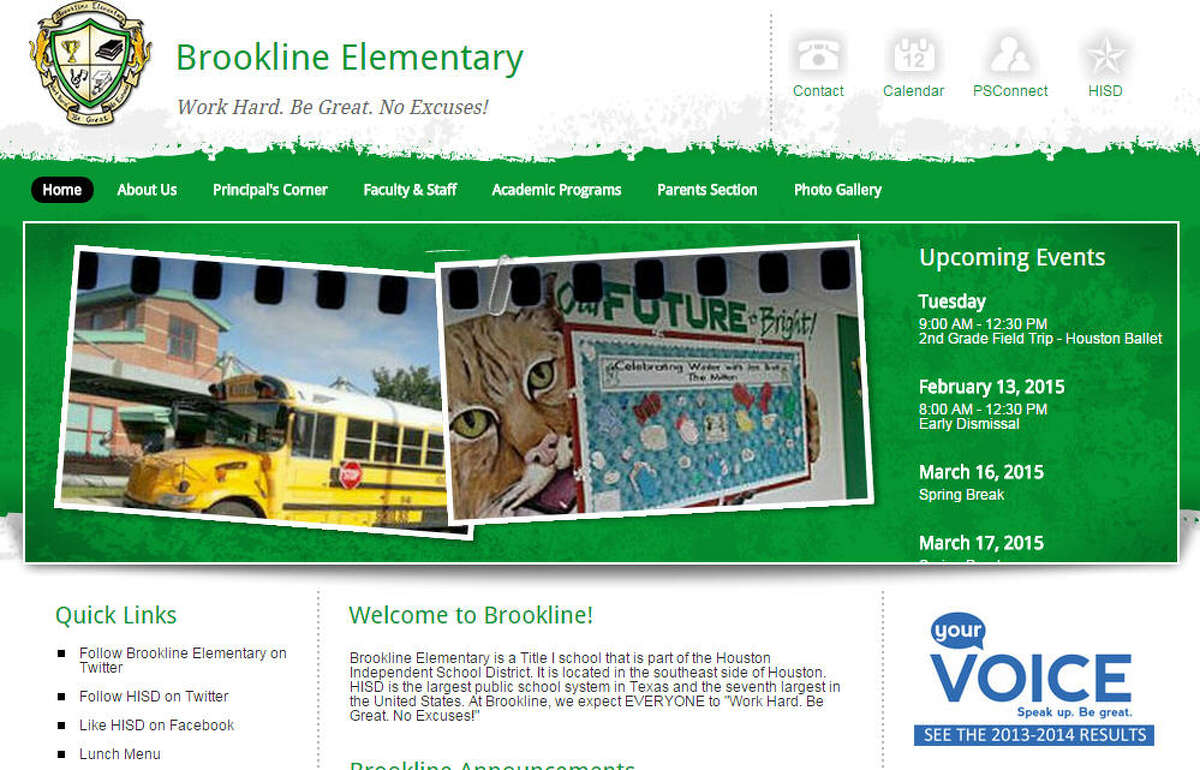 Brookline Elementary School Marco Morales, principal