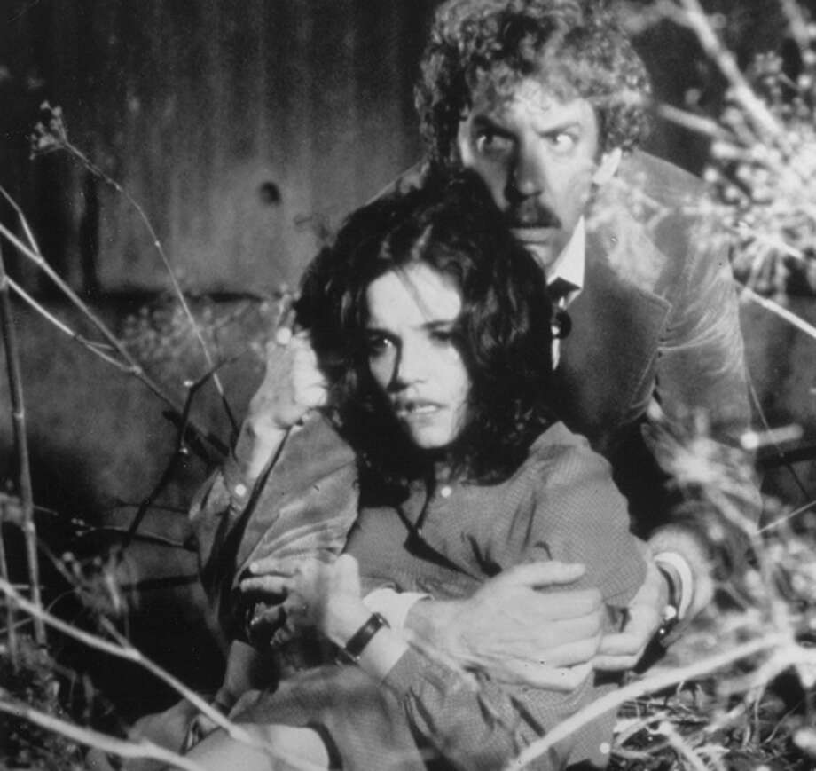 "Brooke Adams and Donald Sutherland in ""Invasion of the Body Snatch ers,"" a solid thriller. Photo: United Artists / Chronicle File / SFC"