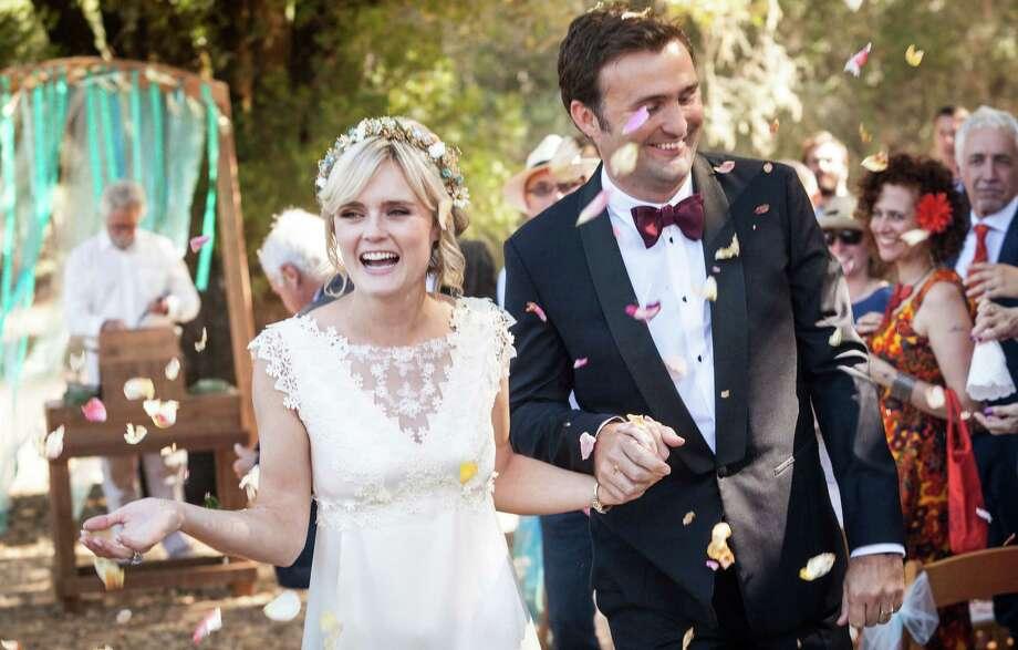 Dominique Farrar and Julien Veyrac married Sept. 6 at River's Bend Retreat Center in Philo. Photo: Jeremie Fremaux / Www.fremauxphoto.com / ONLINE_CHECK