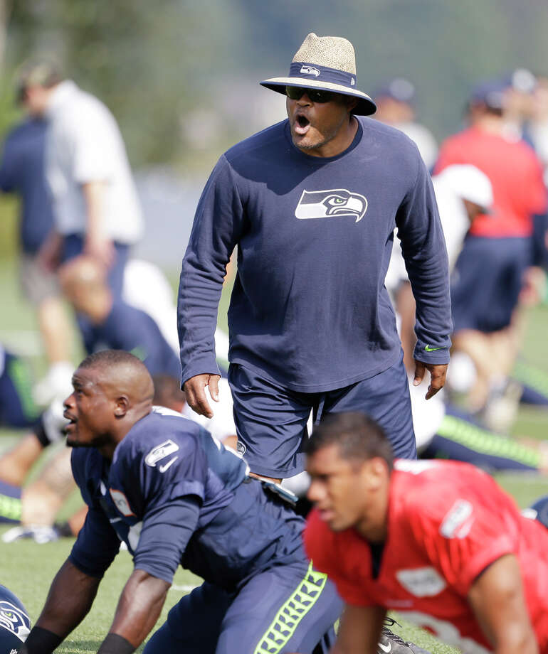 Ken Norton Jr. will be a first-time defensive coordinator under the tutelage of his former teammate Jack Del Rio. Photo: Elaine Thompson / Associated Press / AP