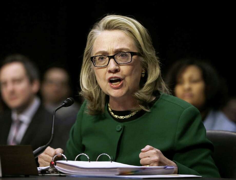 Former Secretary of State Hillary Rodham Clinton will be asked to testify in a public hearing about the attack on the diplomatic mission in Benghazi, Libya. Photo: Pablo Martinez Monsivais, STF / AP