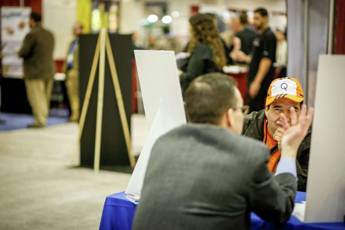 At the Franchise Expo Feb. 6, 2015 in Houston at the NRG Center. (Eric Kayne/For the Chronicle)