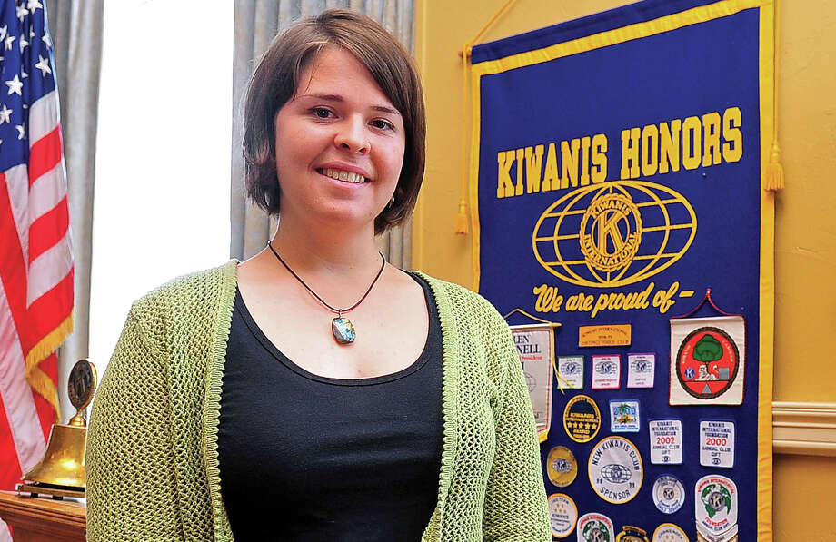 Kayla Mueller smiles after speaking in Prescott, Ariz. Islamic State claimed she died in an air strike. Photo: Matt Hinshaw / Associated Press / The Daily Courier