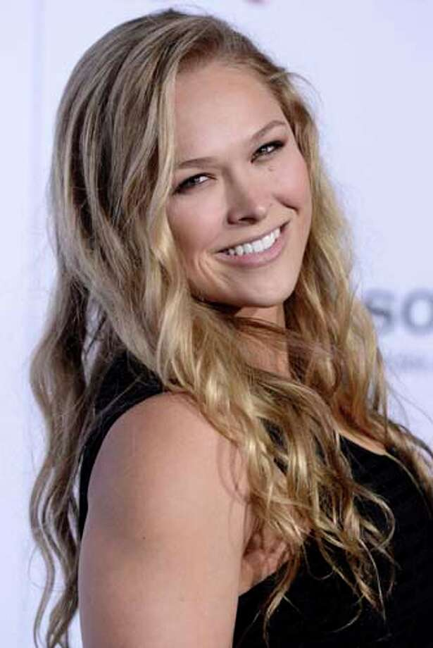 Mixed martial artist Ronda Rousey's grandfather was Afro-Venezuelan. She is also part English and Polish. Photo: Dan Steinberg, Associated Press