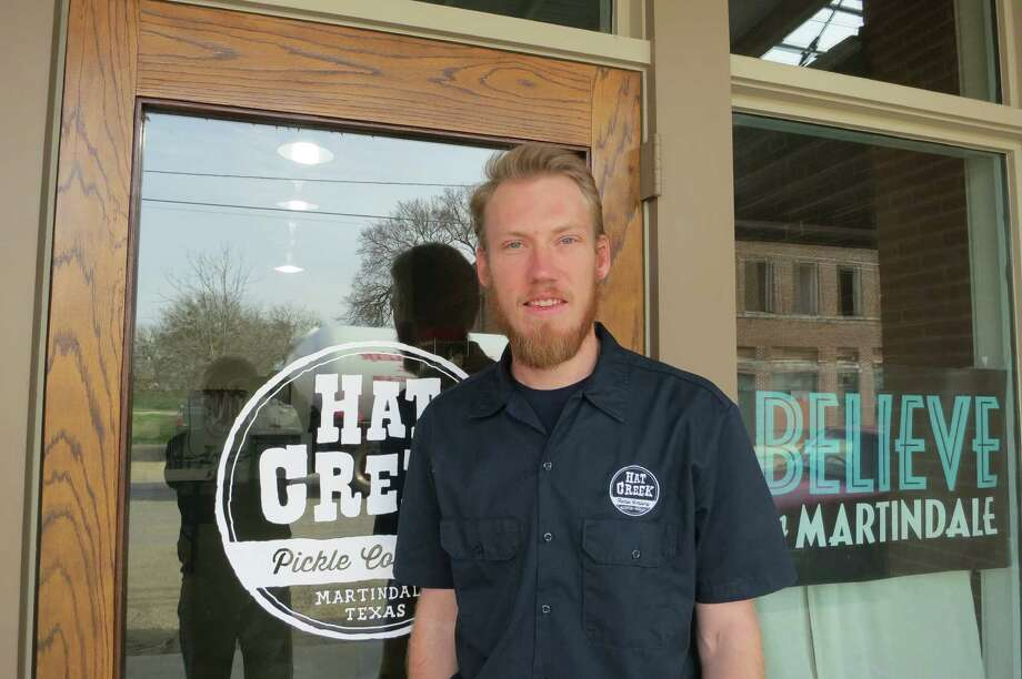 Hat Creek co-founder Tim Klatt discovered Martindale after his pickle operation got kicked out of UT-Austin's football stadium. Photo: Joe Holley / Houston Chronicle