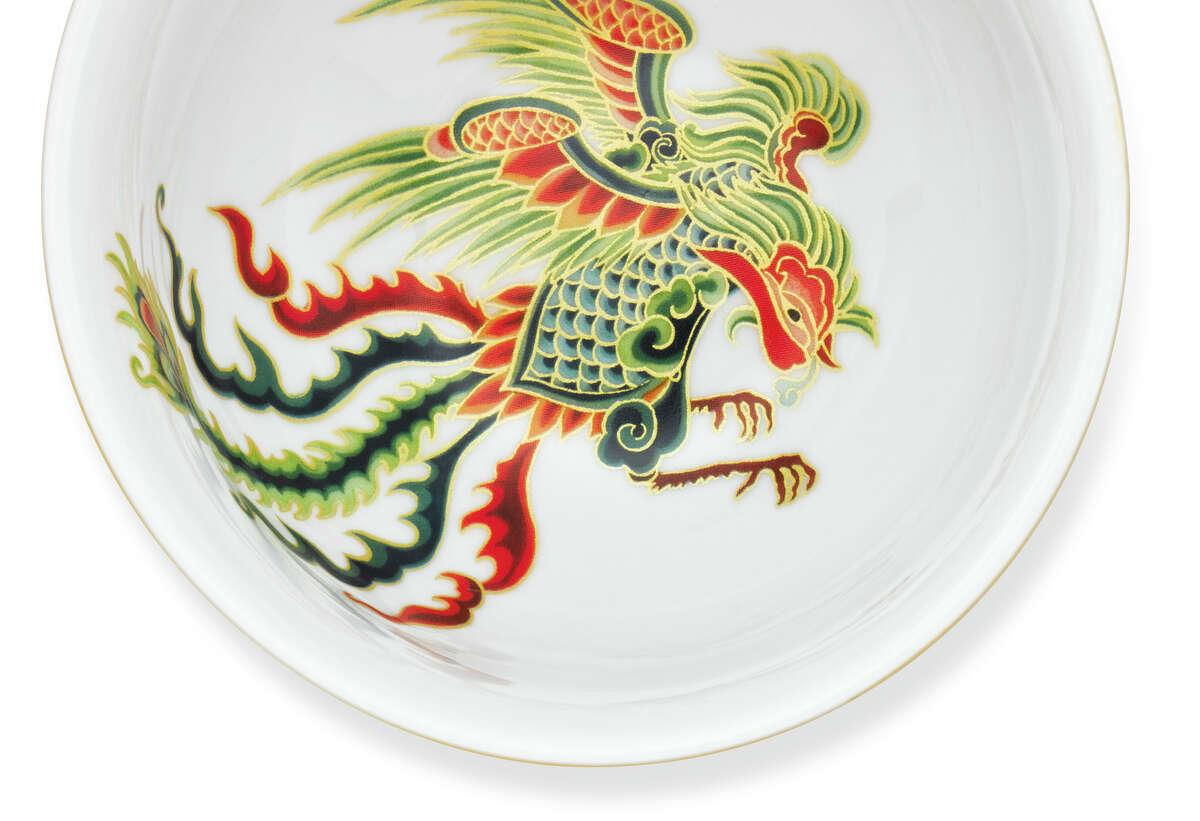 New Moon rice bowl with phoenix, $8.95, www.williams-sonoma.com.