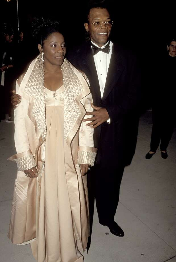 Samuel L. Jackson and LaTanya Richardson in 1995. Photo: Ron Galella, WireImage