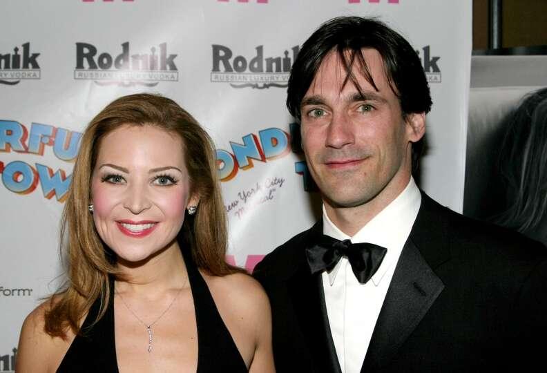 Jennifer Westfeldt and Jon Hamm in 2003. Longtime ...