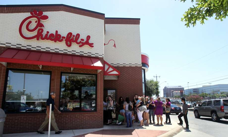 Chick-Fil-A is offering free breakfast at several area locations on Tuesday. Photo: John Davenport, San Antonio Express-News