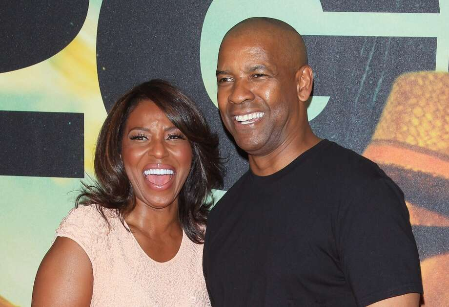 Pauletta Pearson Washington and Denzel Washington met on this set of his first TV movie. They married in 1983 and have four kids. Photo: Jim Spellman, WireImage