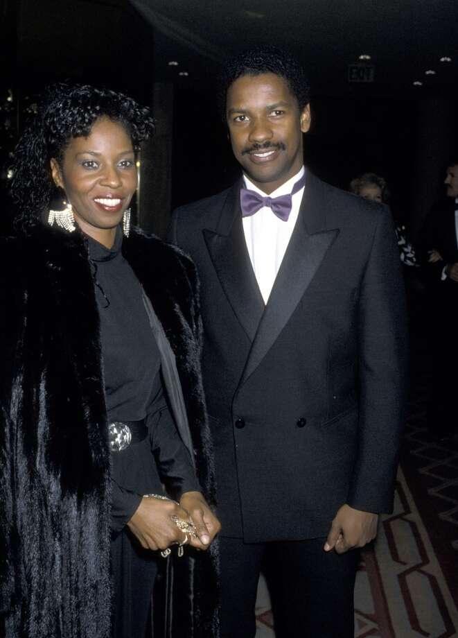 Denzel Washington and Pauletta Washington in 1986. Photo: Ron Galella, WireImage