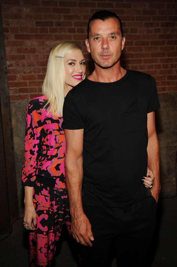Gwen Stefani and Gavin Rossdale met while her band No Doubt was opening for his band Bush in 1995. The couple married in 2002 and went on to have three sons. Photo: Bryan Bedder, Getty Images For L.A.M.B.