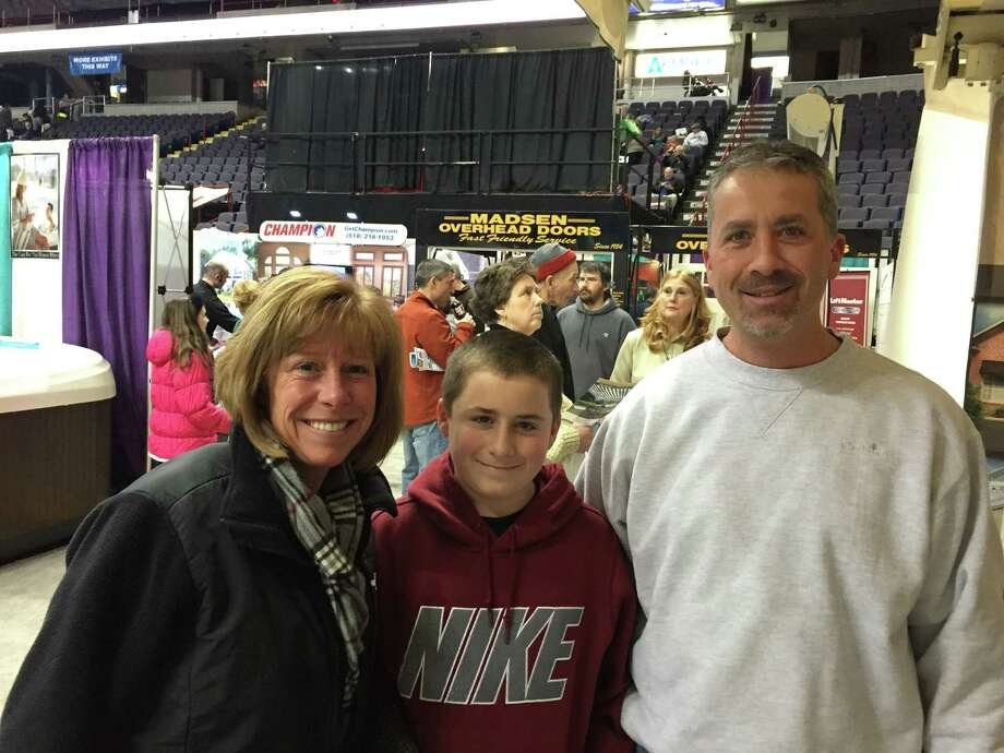 Were you Seen at the 2015 Times Union Home Expo presented by TrustCo at Times Union Center and Empire State Plaza in Albany?  The consumer home expo runs through Sunday, Feb. 8.  More information at http://timesunionhomeexpo.com Photo: L. Audio