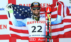 Travis Ganong of Squaw Valley earned the silver medal in a competition that saw three Americans finish in the top 10.