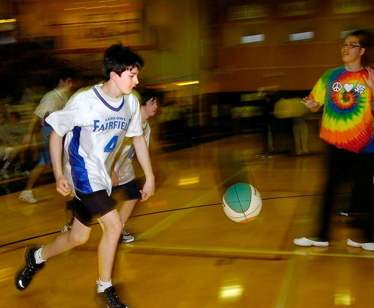 Unified Sports Basketball Tournament at St.Luke's in New Canaan.