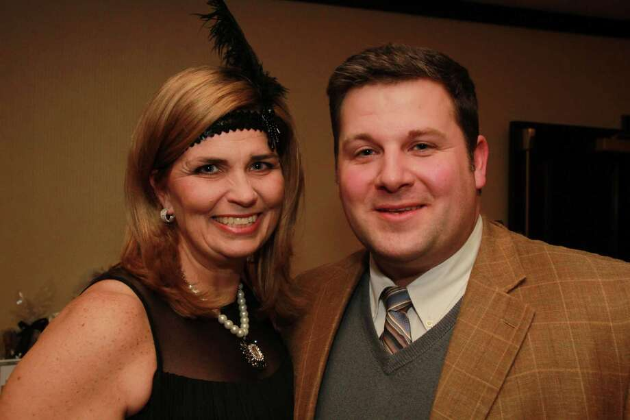 The Kennedy Center held a 1920s themed 'Speakeasy' event in Trumbull to benefit Children's Services on February 7, 2015. Were you SEEN? Photo: Derek T.Sterling, Hearst Connecticut Media Group