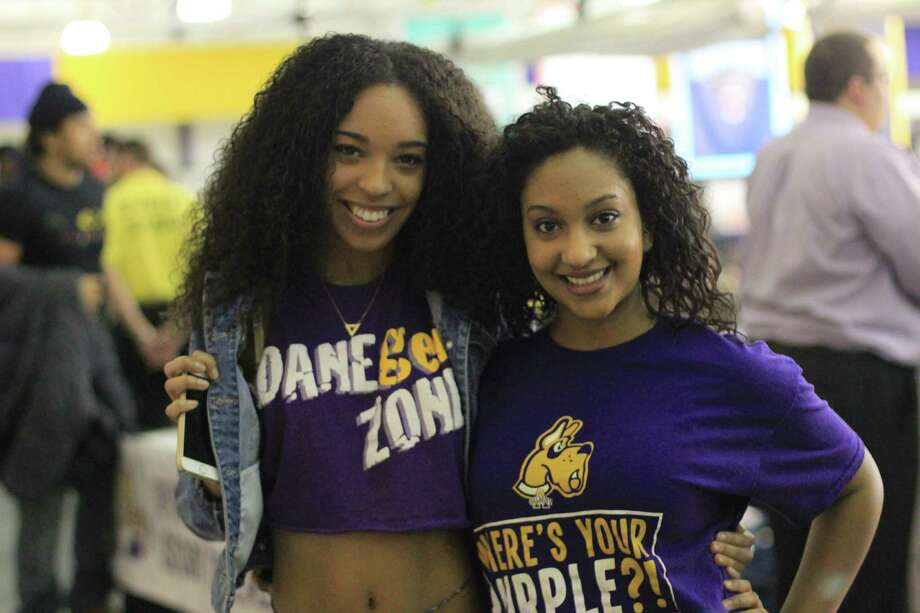 Were you Seen at the 18th Annual Big Purple Growl and Ferocious Feast at UAlbany's SEFCU Arena on Saturday, Feb. 7, 2015? Photo: Jason Agyekum/UAlbany Staff