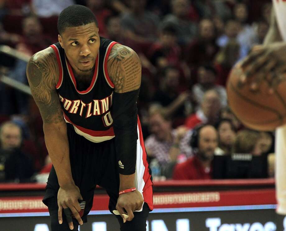 Up and Comer: Damian Lillard$1.8 million for Adidas(shoe released in Jan. 2015)Source:Forbes Photo: James Nielsen, Houston Chronicle