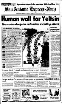 Aug. 21, 1991 Photo: Ipayan, Express-News File Photo