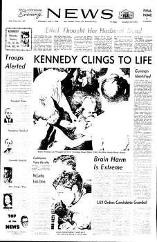 June 5,1968 Photo: Ipayan, Express-News File Photo