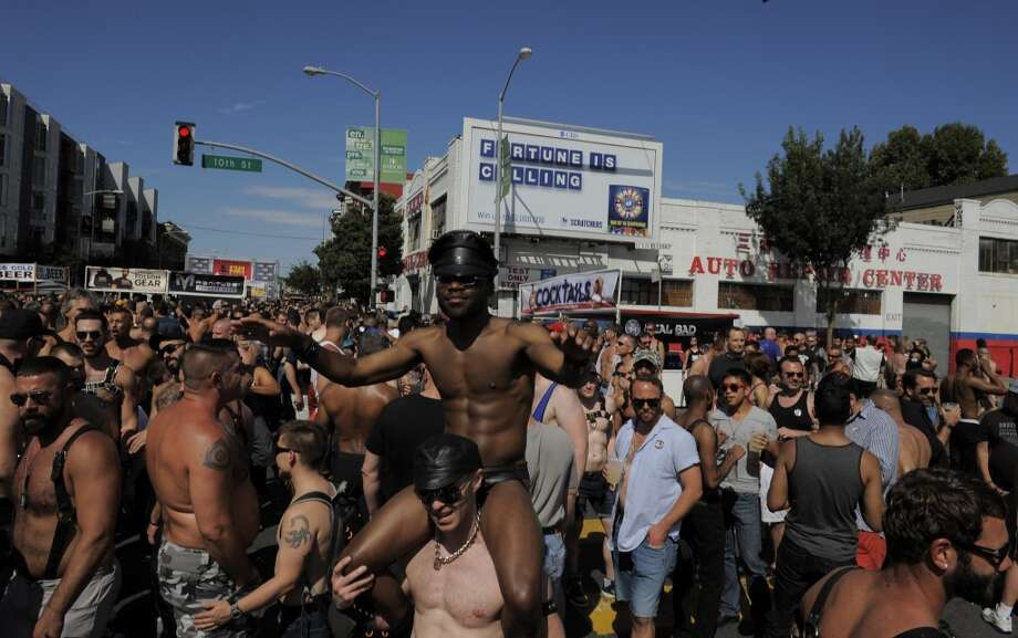 The thirty-year-old Folsom Street Fair is an annual September celebration of fetishes and alternative sexuality in the SoMa neighborhood. The fair has been featured in films and television and draws a large crowd of enthusiasts from around the world. Photo: Craig Hudson, The Chronicle
