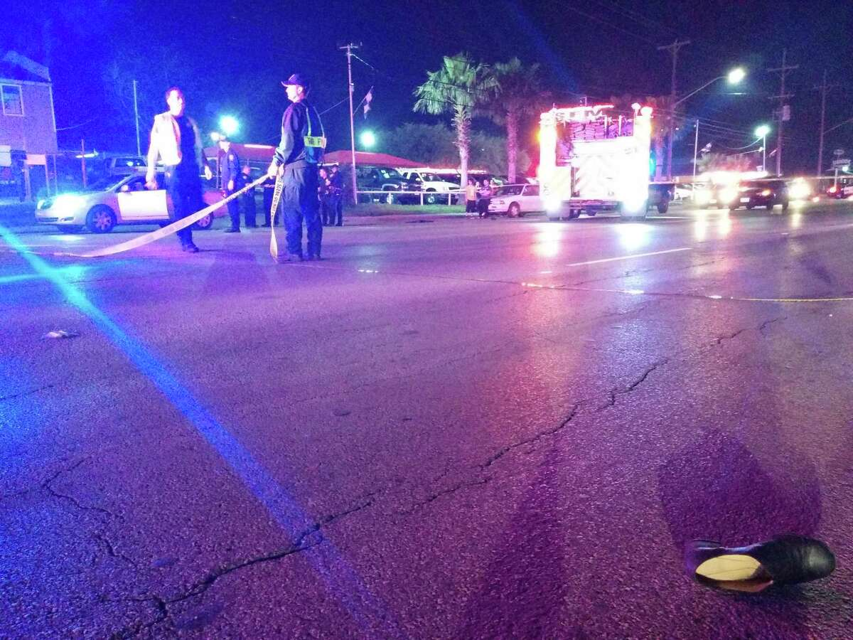 A woman was hit by a car Sunday Feb. 9, 2015 crossing a West Side street.