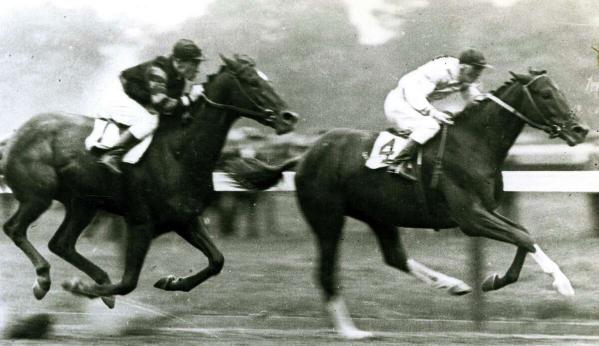 In 1919, Man o' War, who would go on to be the winner of the Preakness and Belmont Stakes in 1920, couldn't get the job done at the Sanford Memorial Stakes in Saratoga. It was the only race he ever lost.