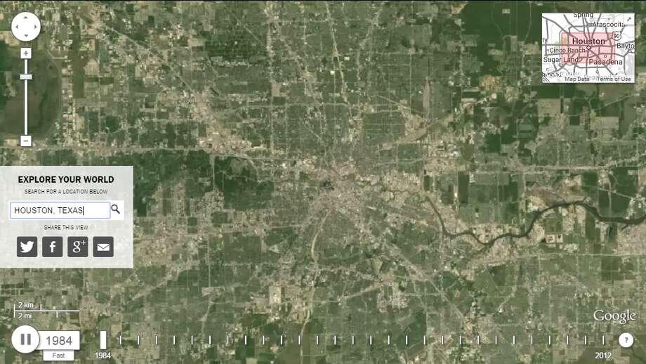 Houston 1984 Photo: Google