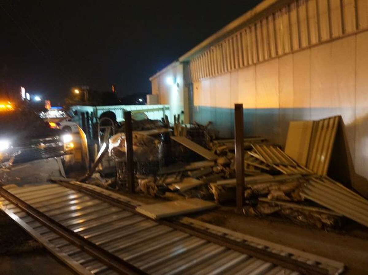 A sleepy Whataburger patron in San Angelo fell asleep in the restaurant's drive-thru lane, crashed into nearby store.