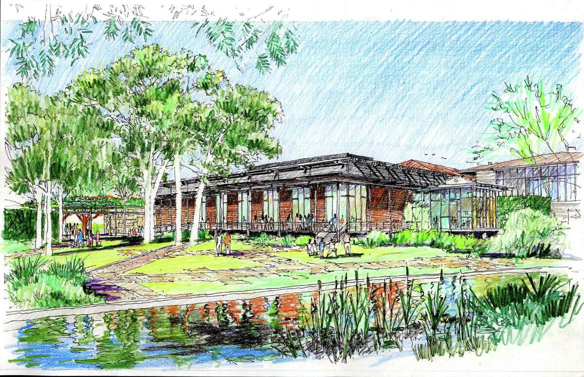 Photo renderings of the new additions to the Witte Memorial Museum in San Antonio.