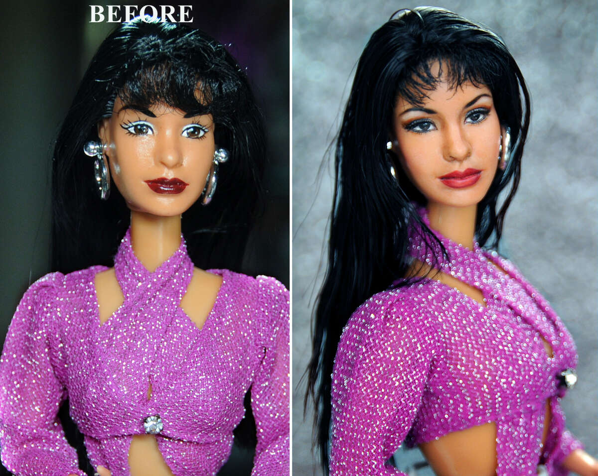 With the 20th anniversary of Selena's death approaching, an artist has repainted and sold a Selena Quintanilla doll for over a thousand dollars on eBay.