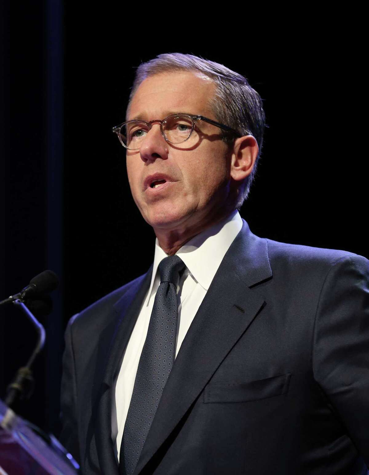 It was reported that NBC news anchorman Brian Williams is taking himself off the evening newscast temporarily as he is investigated over comments he made that misled the public February 7, 2015.